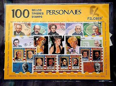100 SELLOS PERSONAJES