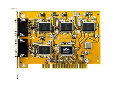 CONEXANT 878A PCI 16 CHANNEL VIDEO CAPTURE CARD & BNC CABLES -  ANALOG, LINUX