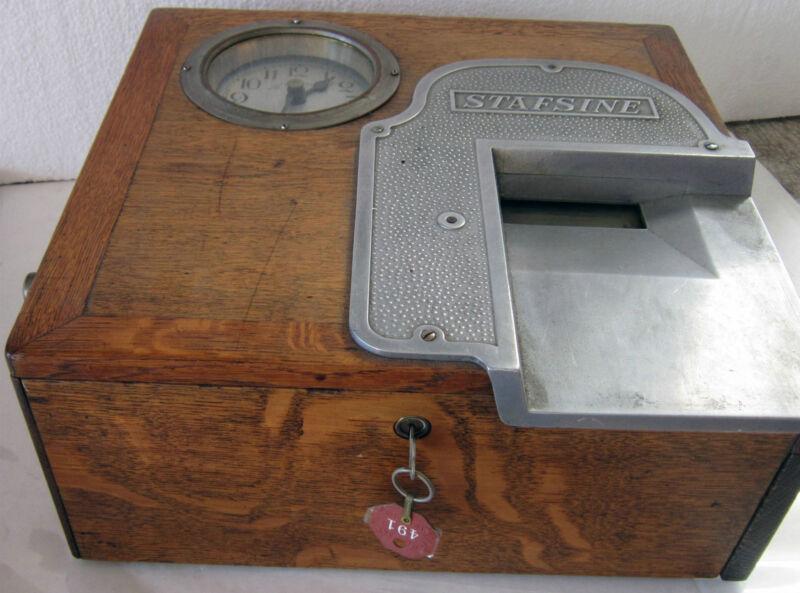 Original Receipt Recorder with Time Clock