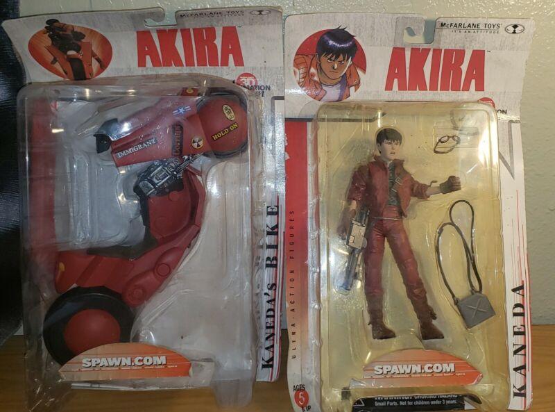 McFarlane Toys 3D Animation From Japan Akira Kaneda + Kaneda's Bike Figures