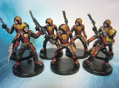 Star Wars Miniatures Lot  Old Republic Soldier Captain !!  s97