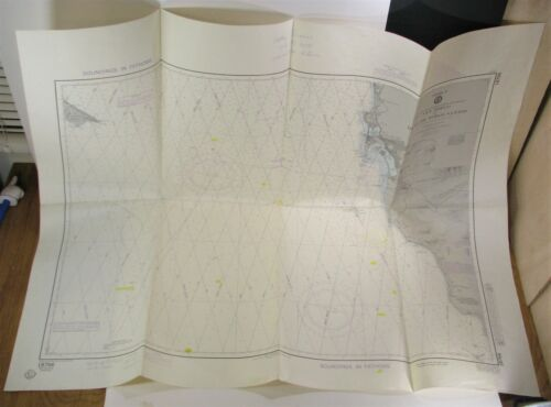 Nautical Chart San Diego to Islas De Todos Santos DMA 18766 Loran C 7th Ed. 1983