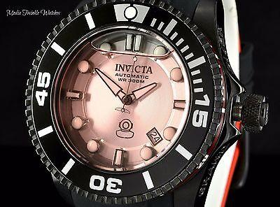 Invicta 47mm Grand Diver 2 Gen II LIQUID DIAL Automatic Red Dial Black Watch