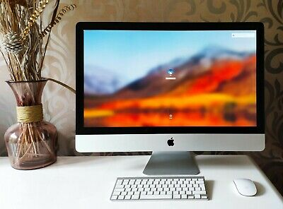"Apple iMac All-in-one 27"" Powerful i7 Quad Core 3.4 - 3.8 Ghz 1TB HDD 16 GB Deal"