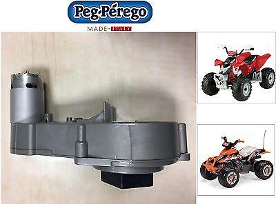 PEG PEREGO MOTORIDUTTORE  con motorino 12V CORRAL T-REX  POLARIS -nuovo- Italia