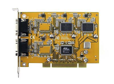 Conexant 878A- PCI 8-Channel Video Capture Card & BNC Cables, ANALOG, LINUX
