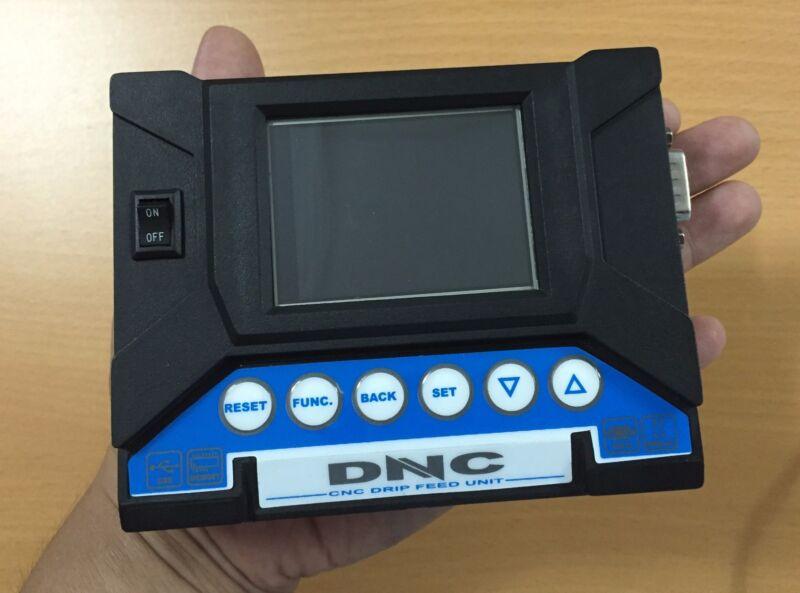 CNC DNC transfer system - Replace PC running a DNC software. Drip feed TITAN USB