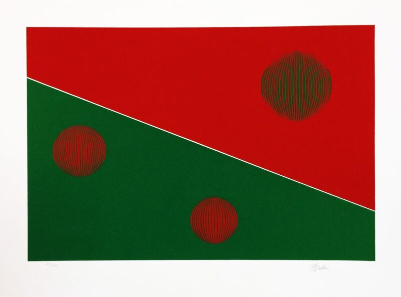 "Gisela Beker ""red And Green"" C. 1979 