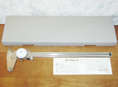 Mitutoyo 12 Inch Dial Caliper No 505-645-50 W Case - Lot1b