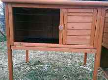 **SINGLE STORY RABBIT GUINEA PIG HUTCH PULL OUT TRAY PACKAGE DEAL Londonderry Penrith Area Preview