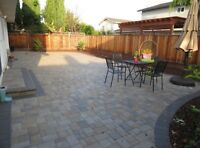 Landscaping and Paving stone projects