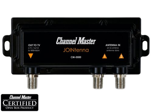 Channel Master JOINtenna TV Antenna Combiner VHF UHF Signals CM-0500