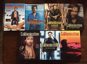 CALIFORNICATION COMPLETE DVD 7 SEASON SERIES