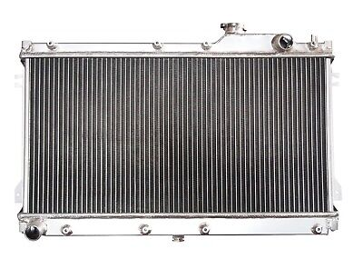 QSC 2 Row Performance All Aluminum Radiator for Miata 90-97 MX5 MT Mazda  for sale  Ontario