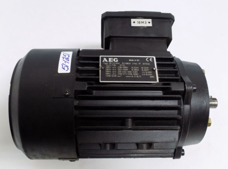 AEG ELECTRIC MOTOR AM71ZAA4
