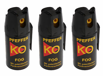 €108,33/L (3 Stück) Ballistol 24450 Pfefferspray KO- FOG ( Nebel) , Abwehrspray