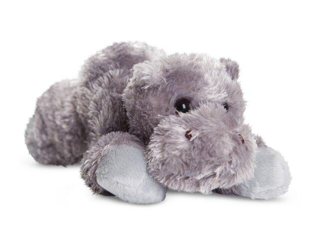 NEW AURORA 20cm FLOPSIES PLUSH HOWIE HIPPO SOFT CUDDLY TOY TEDDY - 31385