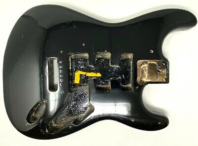 Squier by Fender Stratocaster Guitar Body Black 2000 (20040)