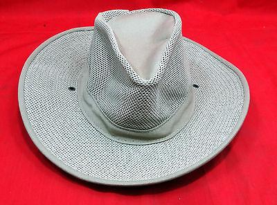 Henschel Hat Co., Size Medium Vented Canvas Hat
