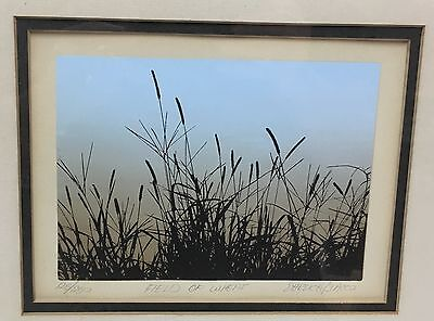"""""""FIELD OF WHEAT"""" SERIGRAPH, HAND SIGNED & NUMBERED BY EHRLICH, SACCO"""