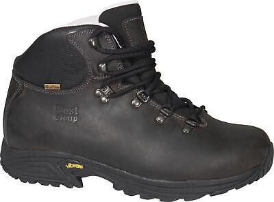 Best Group Storm Leather Waterproof Walking Hiking Boots Mens (Best Mens Waterproof Shoes)