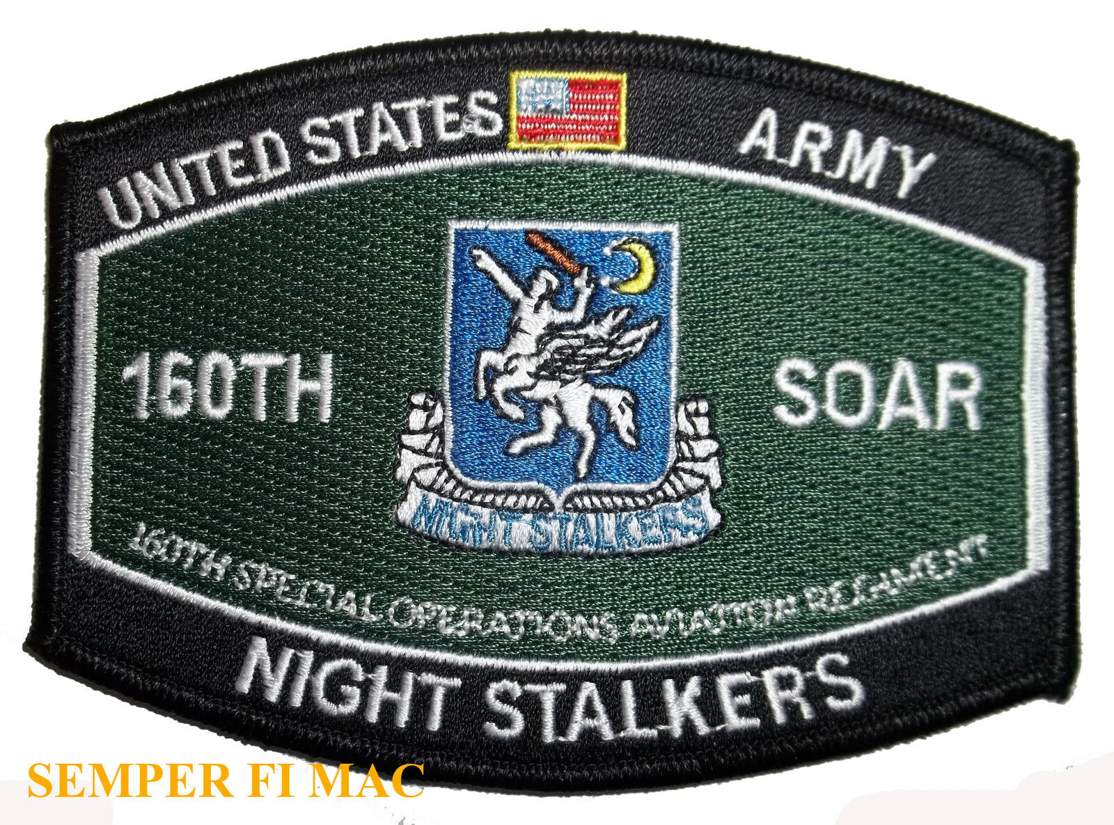Details about 160th aviation night stalkers us army patch helicopter navy seal team bin laden