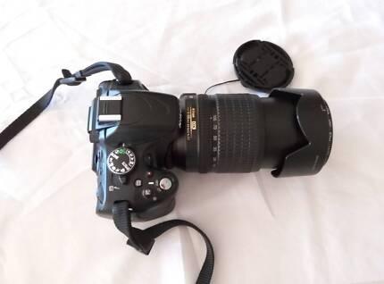 Nikon D5100 DSLR with 18 - 105mm lens and HOYA lens filter Salisbury Brisbane South West Preview