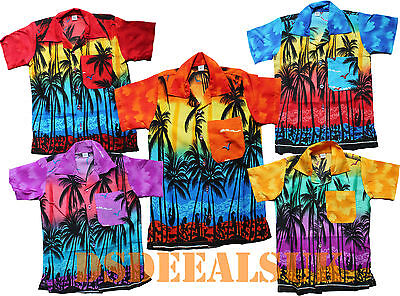 Hawaiihemd Strand Party Jungen Mädchen Kinder Kinder Palme Party Kostüm ()