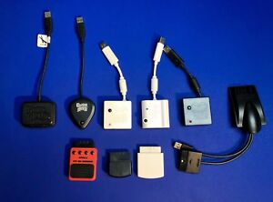 """Wii PS2 PS3 Rock Band Guitar Hero USB """"Dongles"""""""