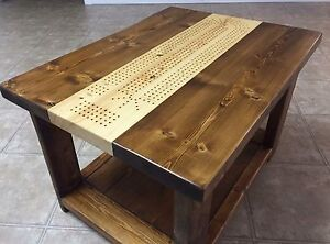 Rustic hand built tables and furniture