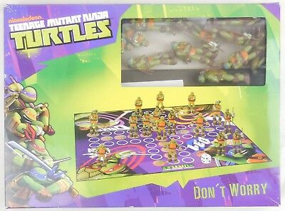 Teenage Mutant Ninja Turtles-spiel (Dont Worry Nickelodeon Teenage Mutant Ninja Turtles Spiel Spielfiguren Figuren)