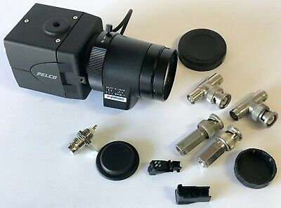Pelco C10dn-6 Daynight Cctv Camera W 5.0-50mm 11.4 13 Cctv Lens