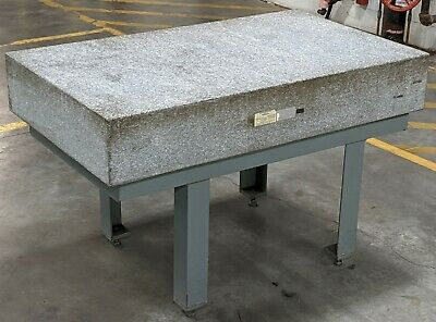 The Surface Plate Co 60 X 36 X 10 Grade A Insp Granite Surface Plate Stand