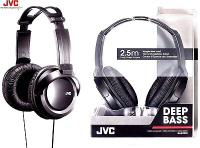 JVC HA-RX330 FULL SIZE EXTRA BASS STEREO OVER-EAR HEADPHONES ORIGINAL /BRAND NEW