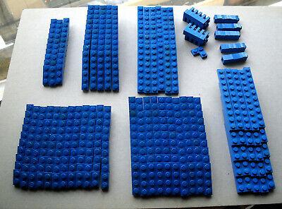 LEGO  :  415 plaques bleues (1 x)