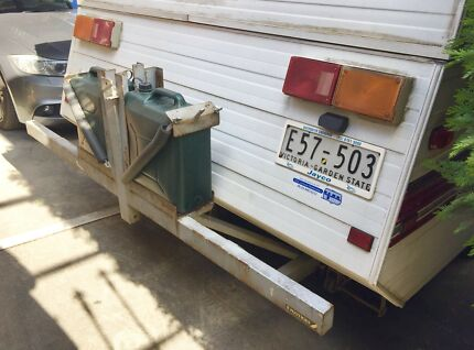 Caravan or Trailer Rear Bumper / Bull Bar