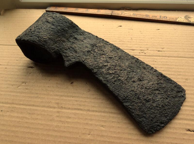 Ancient Good  Working Axe Head Tool 15-17AD Kievan Rus