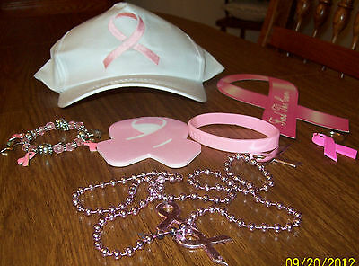 Pink Ribbon Items (Breast Cancer Pink Ribbon Pack)