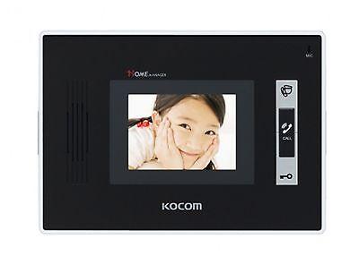 Kocom KCV-352 2wire 3.5 inch Color Video InterPhone(White)+ KC-C62 Door Camera