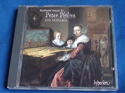 Paul Nicholson Hyperion CDA-66734 Keybord Music Peter philips CD excellent C.
