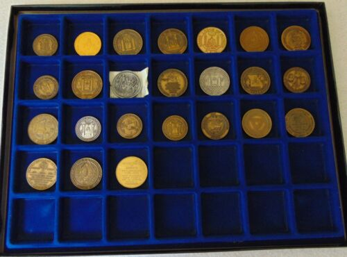 MASONIC MEDALS/COINS ISSUED BY 23 GRAND LODGES FOR THE AMERICAN BICENTENNIAL,197