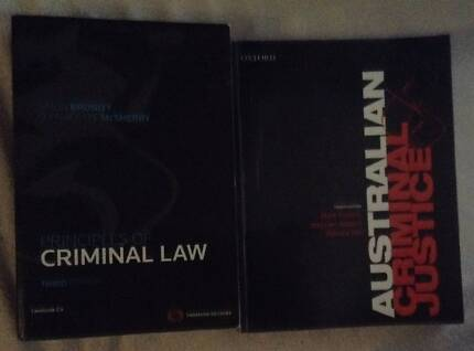 LAW textbooks university CURRENT all great condition RRP $570 Machans Beach Cairns City Preview