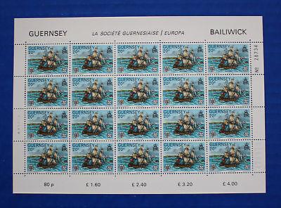 Guernsey (#242) 1982 La Societe Guernesiaise Centenary MNH sheet
