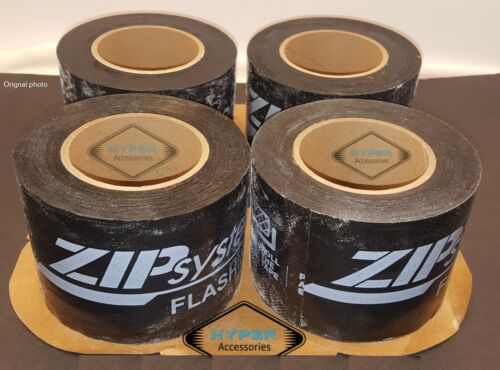 Four (4) rolls of Zip System Flashing Water Sealing Tape Best Tape Ever!