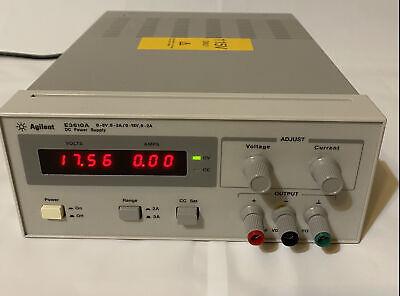 Agilent E3610a Dc Power Supply 0-8v  0-3a0-15v  0-2a