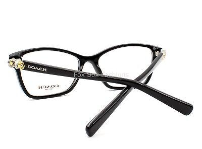COACH HC 6091B 5002 Eyeglasses Frames Glasses Black ~ Daisy Rivets ~ 53mm