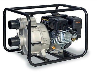 Power Pump 4T A Petrol Self-Priming Portable Aluminium WORTEX Lw 80-is 6,5 HP