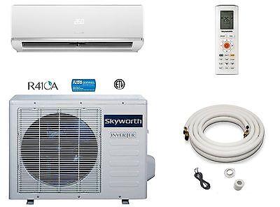 Super Efficient 9,000 BTU Ductless Mini Split Air Conditioner Heat Pump 3/4 Ton  Heat Pump Efficiency