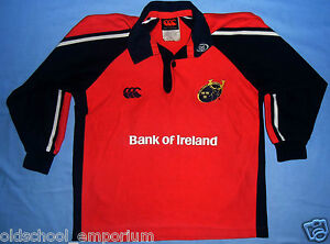 MUNSTER RUGBY / 2004-2005 Home - CANTERBURY - JUNIOR Rugby Shirt / Jersey. 8 yrs - Poland, Polska - MUNSTER RUGBY / 2004-2005 Home - CANTERBURY - JUNIOR Rugby Shirt / Jersey. 8 yrs - Poland, Polska