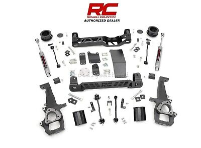 "2009-2011 Dodge Ram 1500 4WD 4"" Rough Country Suspension Lift Kit [32830]"